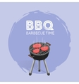 Barbecue BBQ Time Vintage Graphic vector image