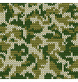Digital camouflage pattern vector image