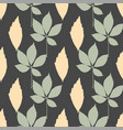 autumn leaves seamless pattern repeat vector image
