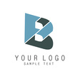B icon vector image vector image