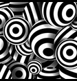 balls black lines geometrical circles vector image vector image