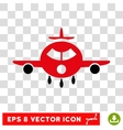 Cargo Aircraft Eps Icon vector image