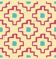colorful seamless grunge decorative ethnic pattern vector image vector image
