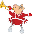 Cute Pig Musician Cartoon vector image vector image