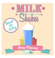 Milkshakes vector image vector image