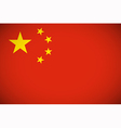 National flag of China vector image vector image