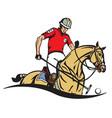 polo club emblem vector image vector image