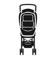 baby stroller chair icon simple style vector image vector image