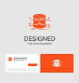 business logo template for database data vector image