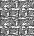 Crossed sailor knot vector image vector image