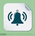 ring bell icon EPS vector image