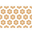 thai pattern floral seamless on white background vector image vector image