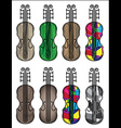 violin musical instrument vector image