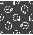 24 hours pattern vector image vector image