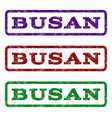 busan watermark stamp vector image