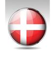 Flag button design elements vector image