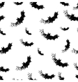 Halloween icons seamless of bat vector image vector image