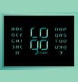 logo jade alphabet letters vector image