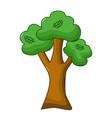 oak tree icon cartoon style vector image vector image