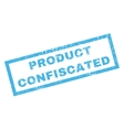 Product Confiscated Rubber Stamp vector image vector image