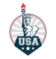 Statue of liberty united states usa lettering