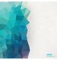 Triangle pattern background triangle background vector image vector image