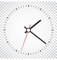 clock icon office clock on isolated background vector image vector image