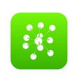 cresols molecule icon green vector image vector image