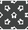 Family house pattern vector image vector image
