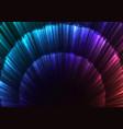 rainbow abstract circle layer bloom bar background vector image vector image