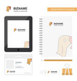 turkey business logo tab app diary pvc employee vector image vector image