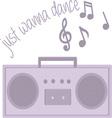 Wanna Dance vector image vector image
