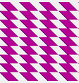 zigzag repeatable pattern with parallelograms vector image