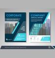 business brochure design template vector image vector image