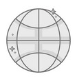 grayscale network global connection digital vector image vector image