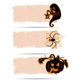 Halloween sticker vector image vector image