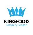 King Food Design vector image vector image