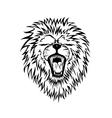 lion graphic vector image vector image