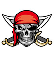 skull pirate head