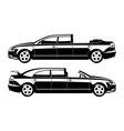 brougham and landaulet vector image vector image
