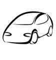 Car symbol vector image vector image