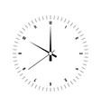 clock face hour dial with numbers and hour vector image vector image