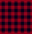 dark red lumberjack seamless pattern vector image vector image