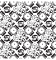 Seamless pattern collection with watches vector image vector image