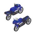 Sport Bike Isometric Transportation Modern Motor vector image vector image