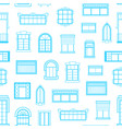window icons monochrome background pattern vector image vector image