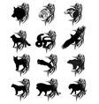 animals tattoo vector image