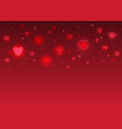happy valentines day card abstract pink color vector image