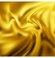 Abstract Texture Yellow Silk vector image vector image