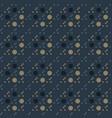 circular uneven seamless pattern vector image vector image